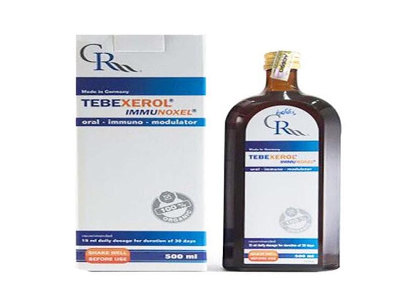 Tebexerol Immunoxel chứa nhiều thành phần thảo dược quý